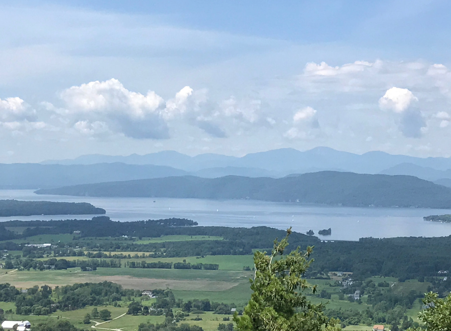 Lake Champlain, July 2017