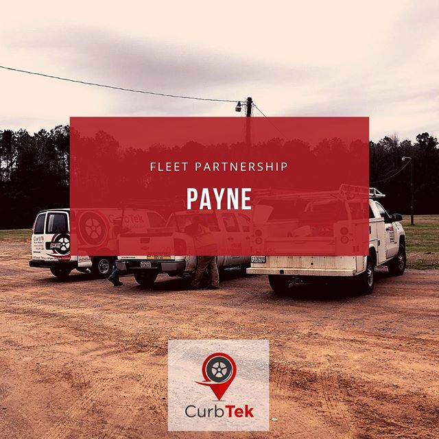 Another partnership we couldn't live without: Payne! #CurbTek #fleetfriday