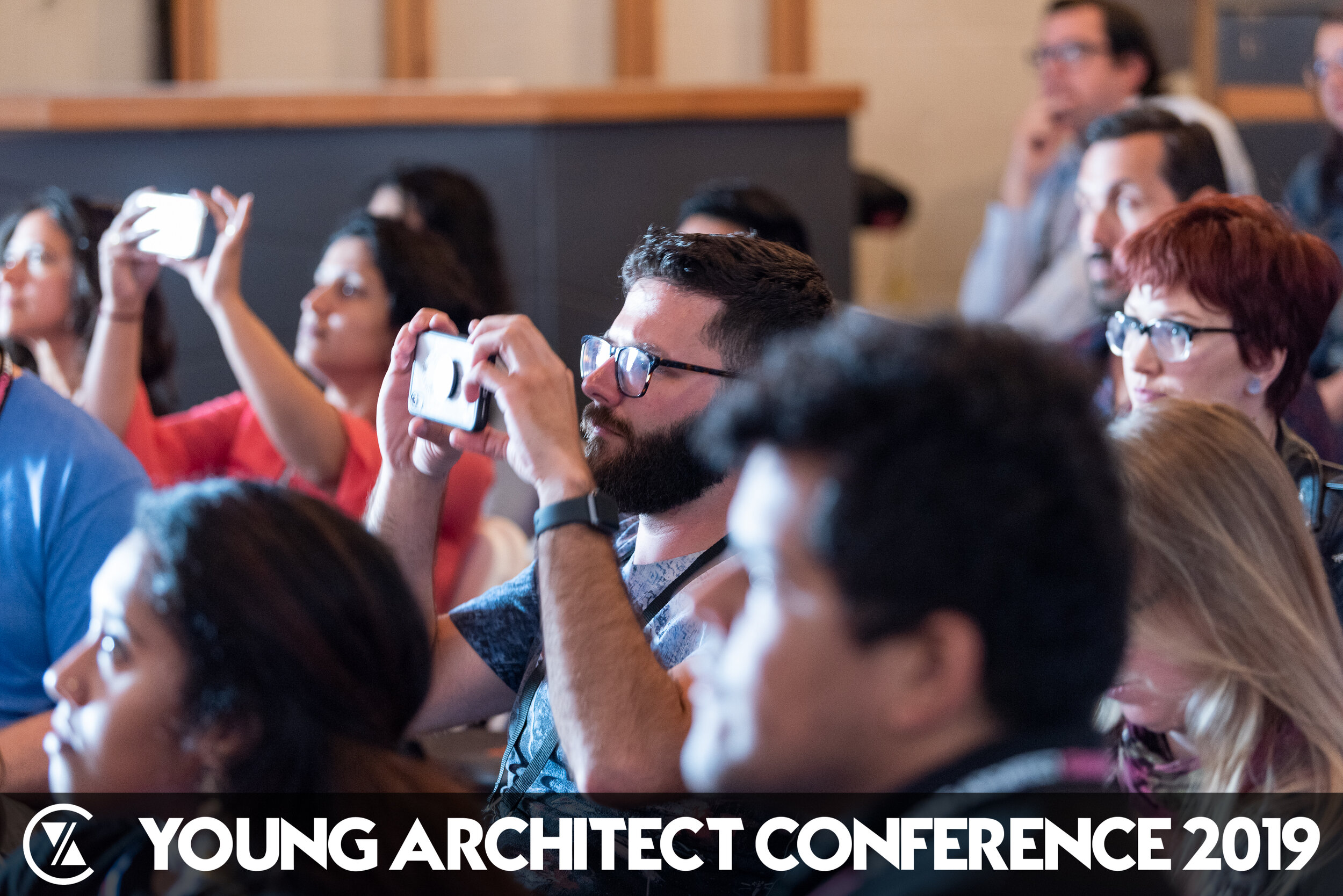 Me (being super amazed) at the  YAC  - Photo by  Timothy Niou
