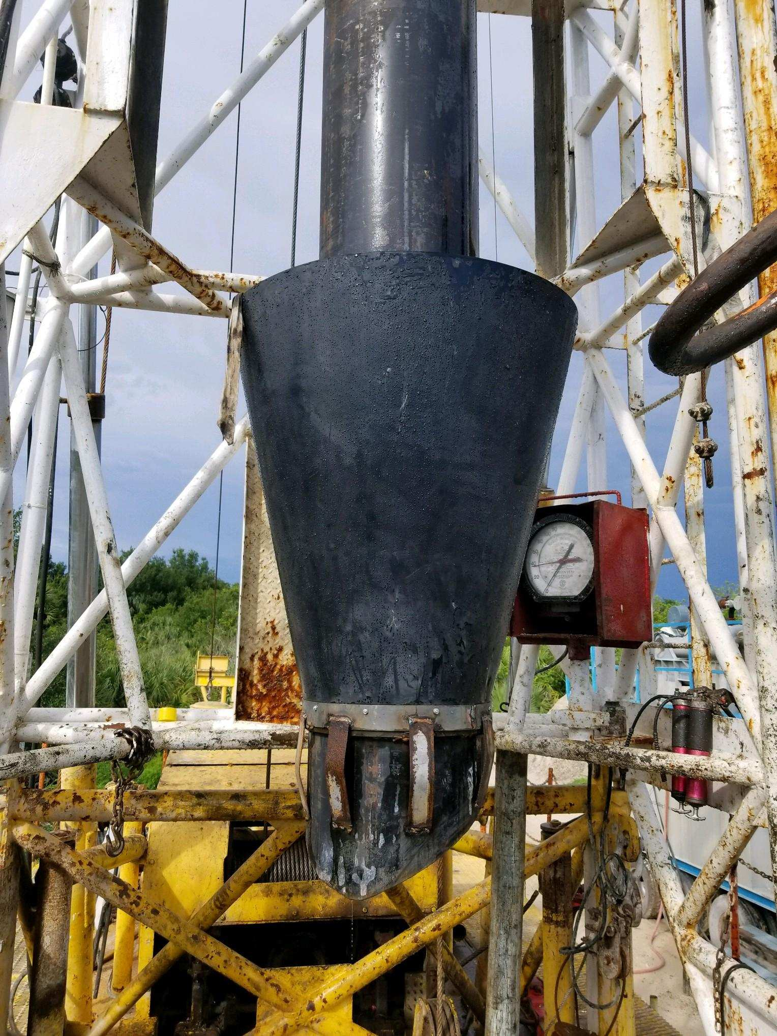 Conical Boot in Service