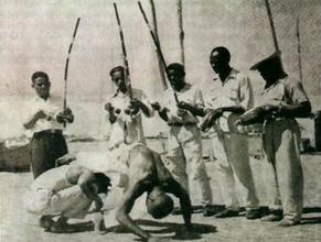 Capoeira jogo antiga