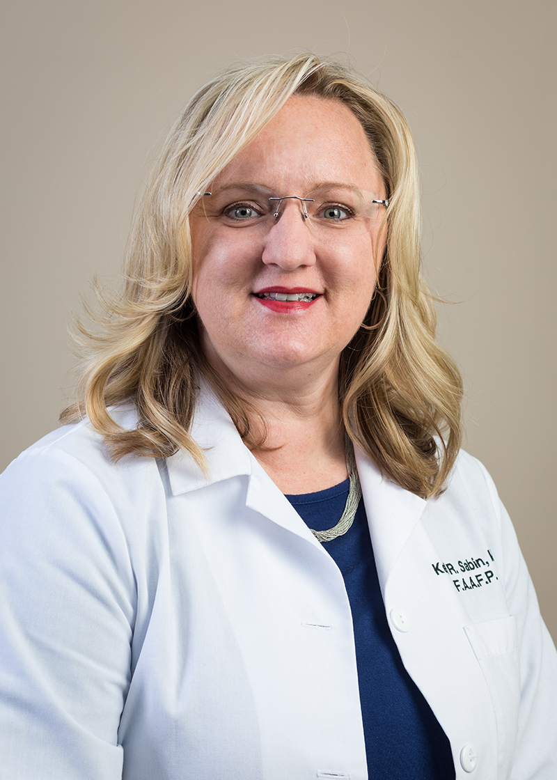 Kelli Sabin,  MD, FAAFP   Dr. Sabin is a graduate of NEOMED. She concluded her residency in Family Medicine at Summa Health System in Akron, OH and is board certified by the American Board of Family Medicine. Dr. Sabin has been awarded the degree of Fellow by the American Academy of Family Physicians and is an appointed Assistant Professor of Family Medicine at NEOMED.