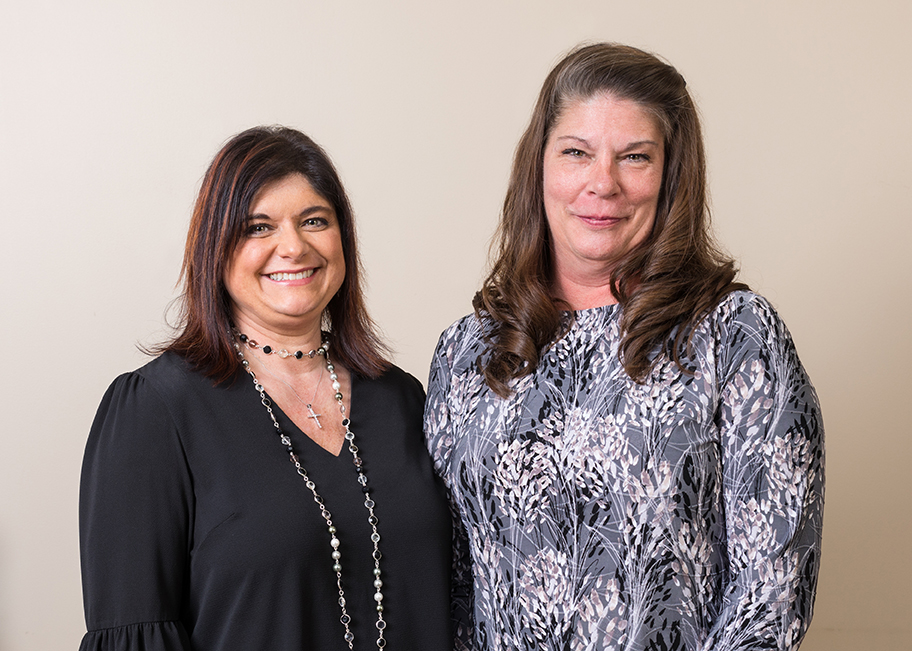 Lisa Keith,  Billing Manager  and Kathy Wiczen,  Office Manager