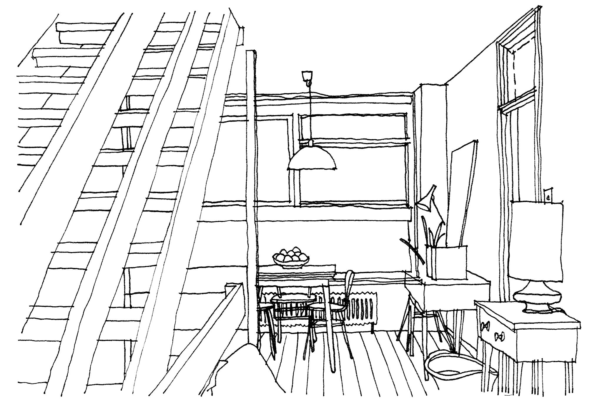 Stage 1: Concept design - Measured survey, desktop research, brief development, design proposals based on your brief