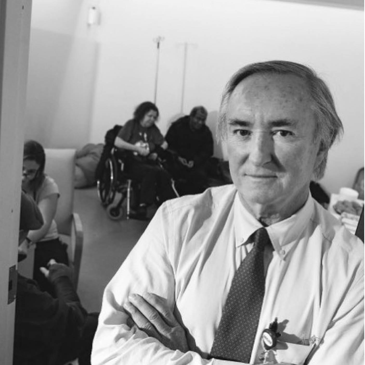 Jim O'Connell, M.D. - Founder and President of the Boston Health Care for the Homeless Program | Author of Stories from the Shadows: Reflections of a Street Doctor