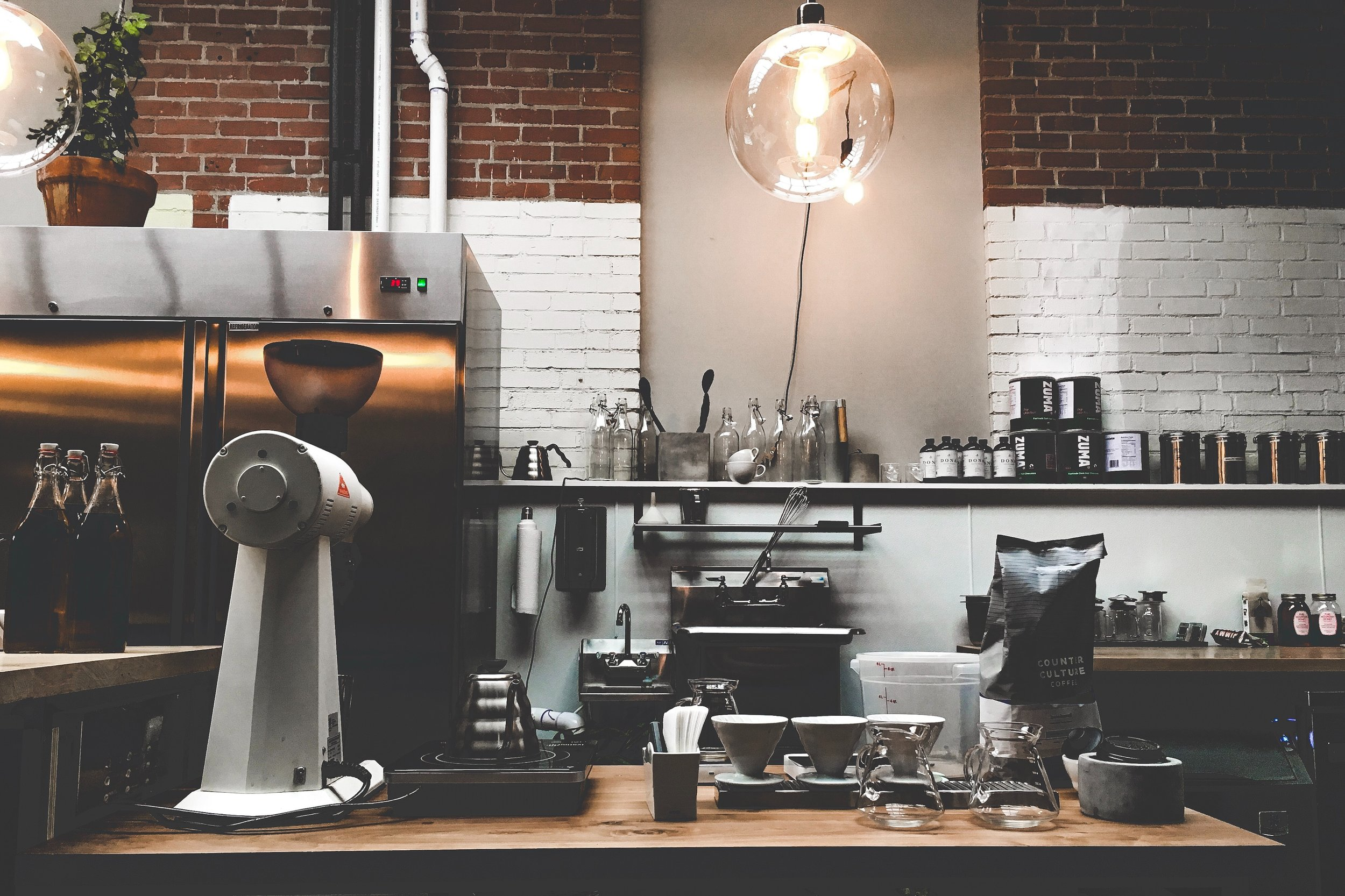 Serving cold brews and cappuccinos within a community and culture of hope. -