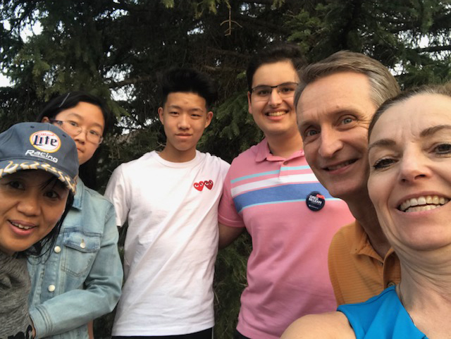 Lots of volunteers getting experience knocking doors in Britannia last night (May28) -- and a great night to be out! Want to join us?  Click here  to go to the volunteer sign-up form.