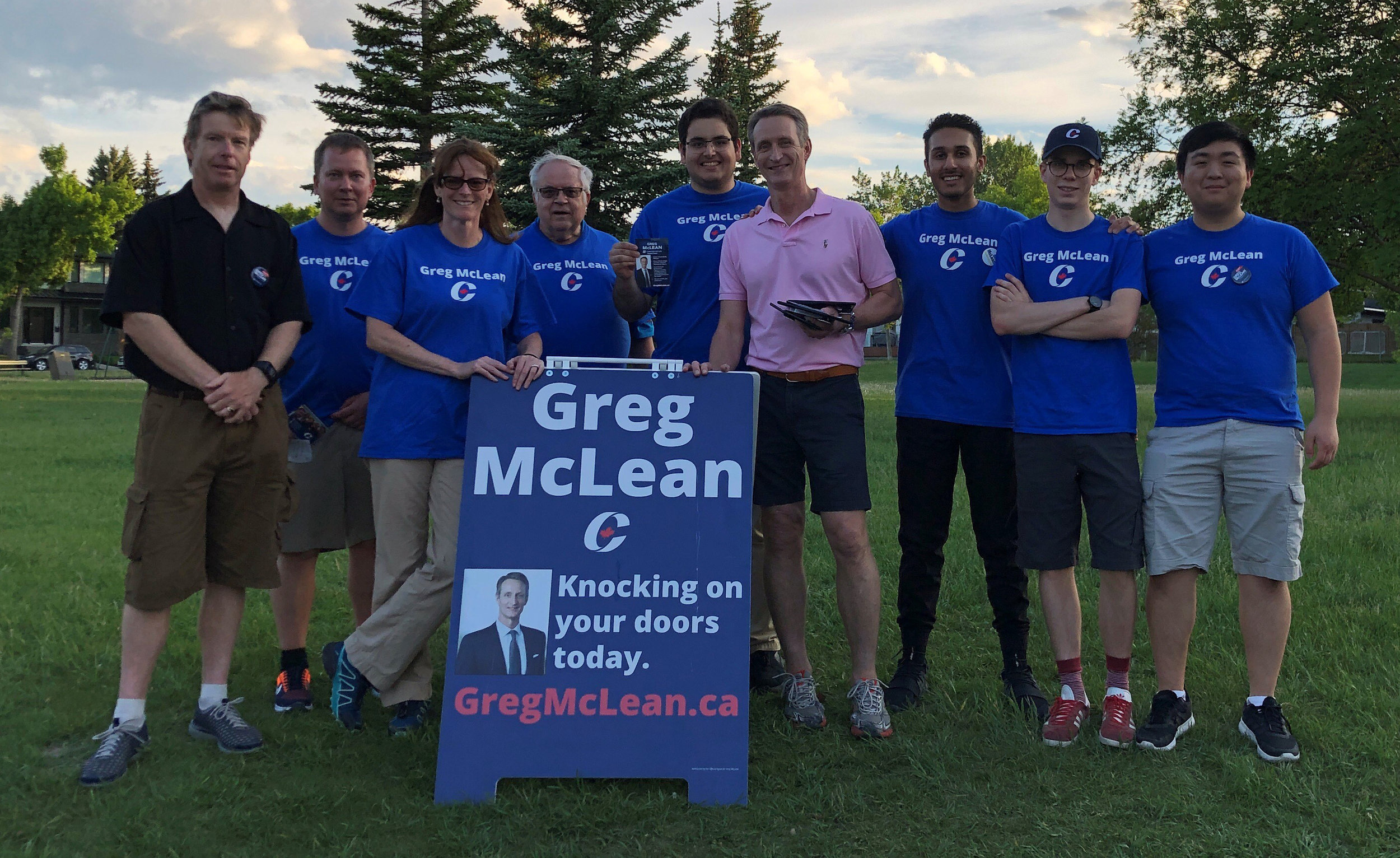 What a night! Two teams at the doors last evening (June 18) as we canvassed in Altadore. More help keeps coming. Everyone is welcome, because we have a huge job to do. Thanks to everyone who volunteers.