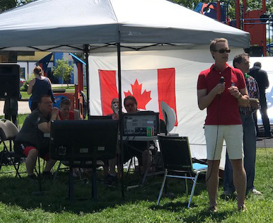 Happy Canada Day! From the Manchester Community in Calgary Centre.