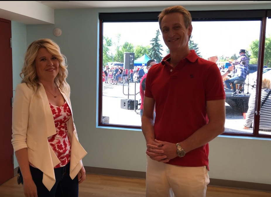 I dropped by MP Michelle Rempel's Canada Day Party, and we shot this little video talking Calgary politics - what's she's hearing, what I'm hearing at the doors, and Kent Hehr's voting record against the best interests of Alberta. You can view the video on YouTube by clicking on the picture.