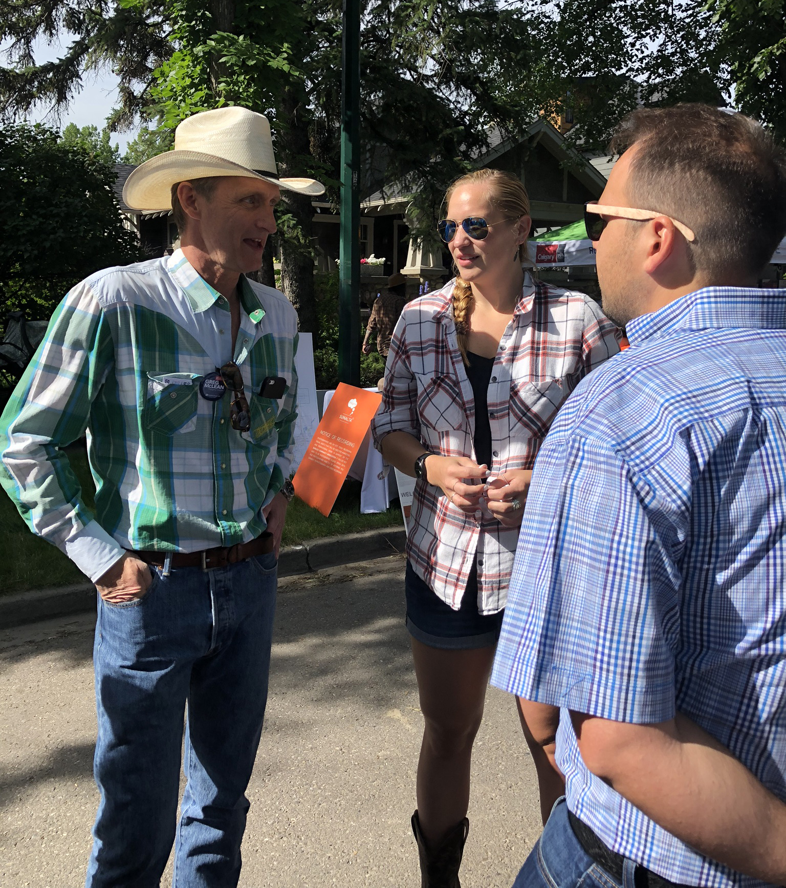 I love how our communities come together for neighbourhood Stampede events.
