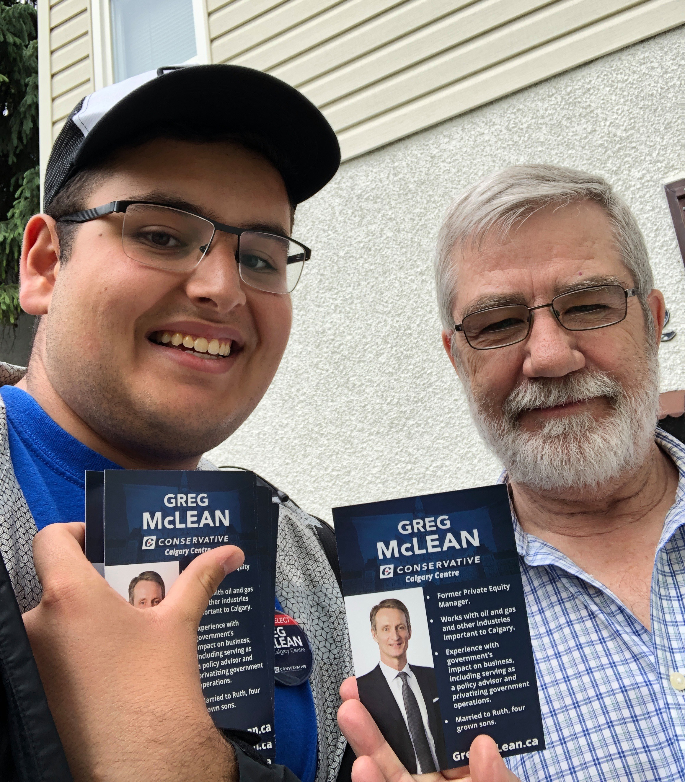 Knocking on doors is at the heart of how we campaign - one on one with voters, distributing literature, hearing questions and feedback.