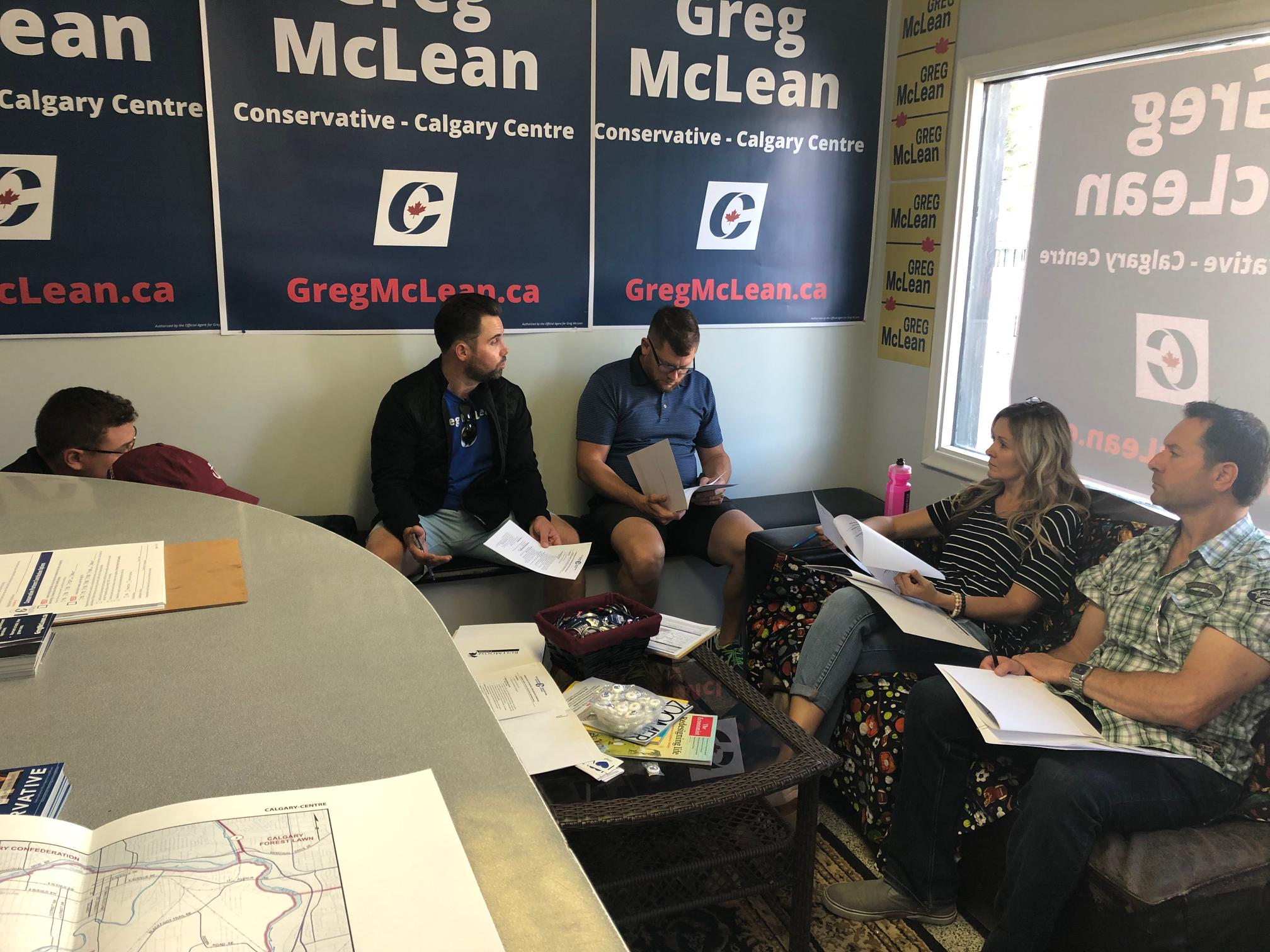 We're using the space for meetings (this is the Sign Committee meeting on Saturday afternoon) but our hours are still on as-needed basis, so if you plan to stop by, please call ahead at 403.453.2454. We'll be staffed regularly after Labour Day.