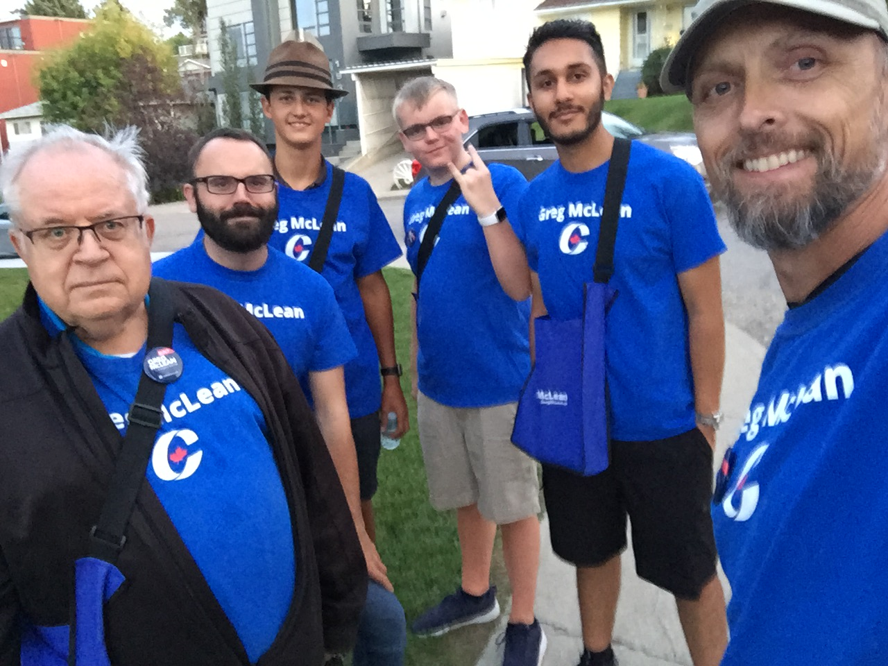 And another team working in South Calgary, this one on Wednesday.