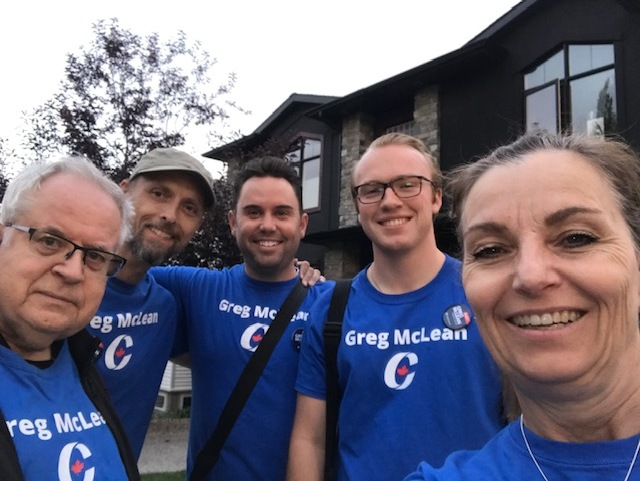 We had so many volunteers that we sent out an additional team. We're getting a lot done in South Calgary.