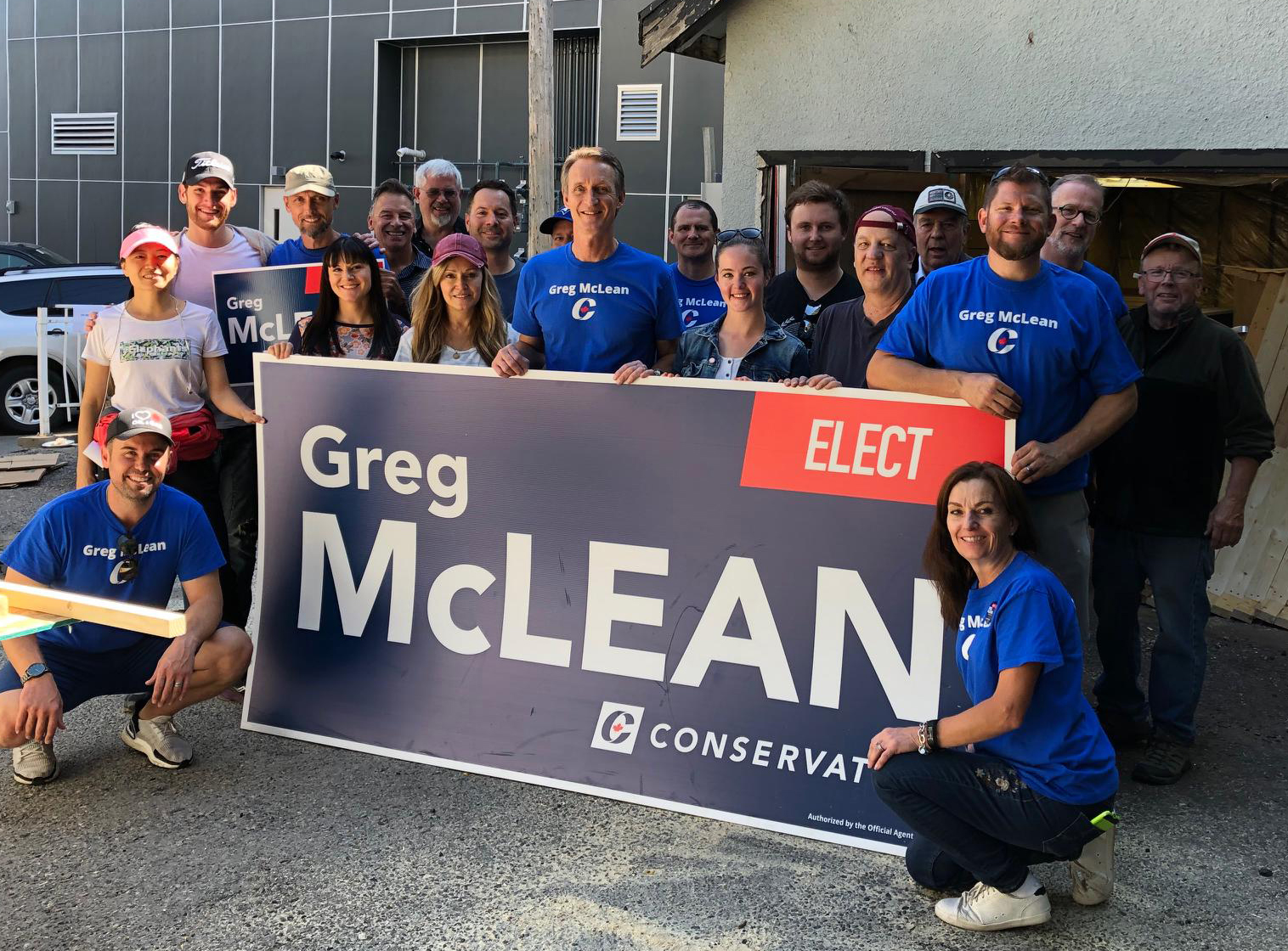 Just some of the volunteers who came out to our volunteer blitz on Saturday September 7. The next blitz is September 28 - mark your calendar and join us!