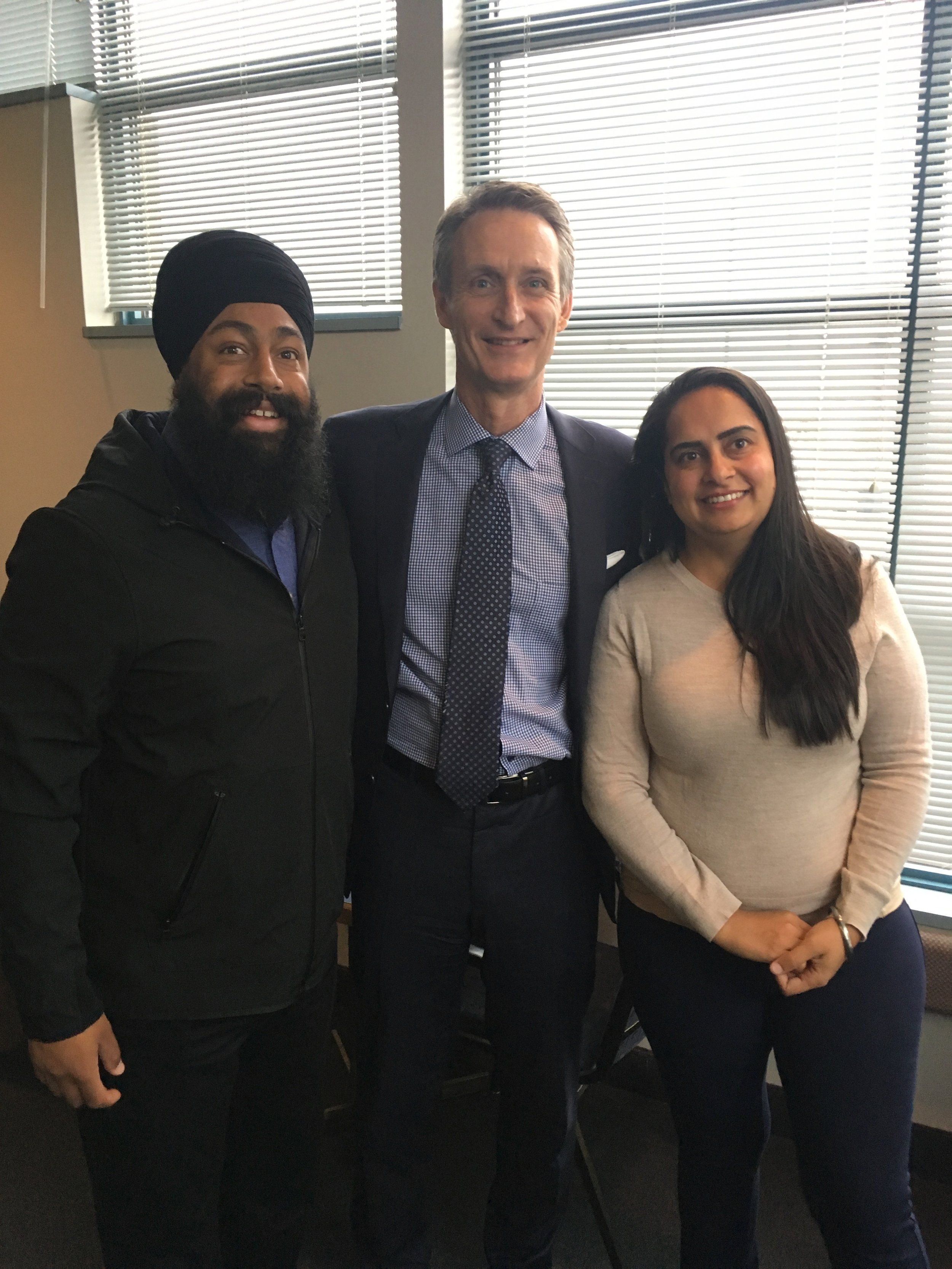 With the writ dropping today, it is timely to wish the best of luck to my fellow rookie candidates in Calgary, Jasraj Singh Hallan in Forest Lawn, and Jag Sahota in Skyview. Together, let's make some waves in Ottawa with our 2019 Rookie Team!