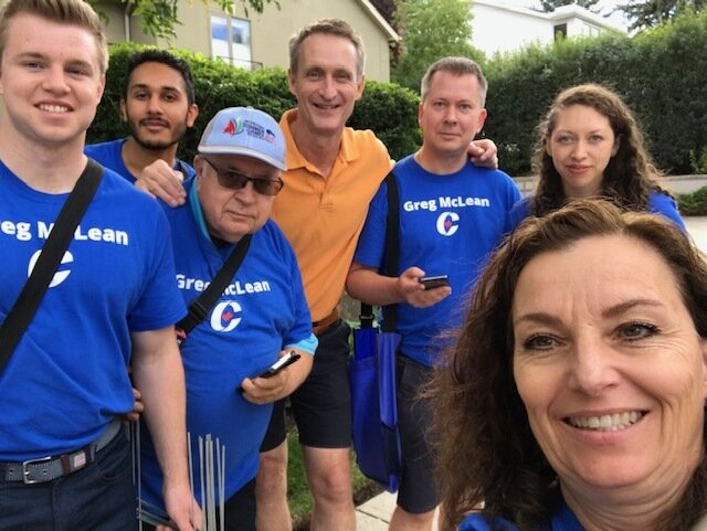 A HUGE day doorknocking in Mount Royal on Sunday. Our sign crews are so busy that doorknockers are now bringing signs! If you are still waiting for a sign - patience please. Demand is high (a good problem).