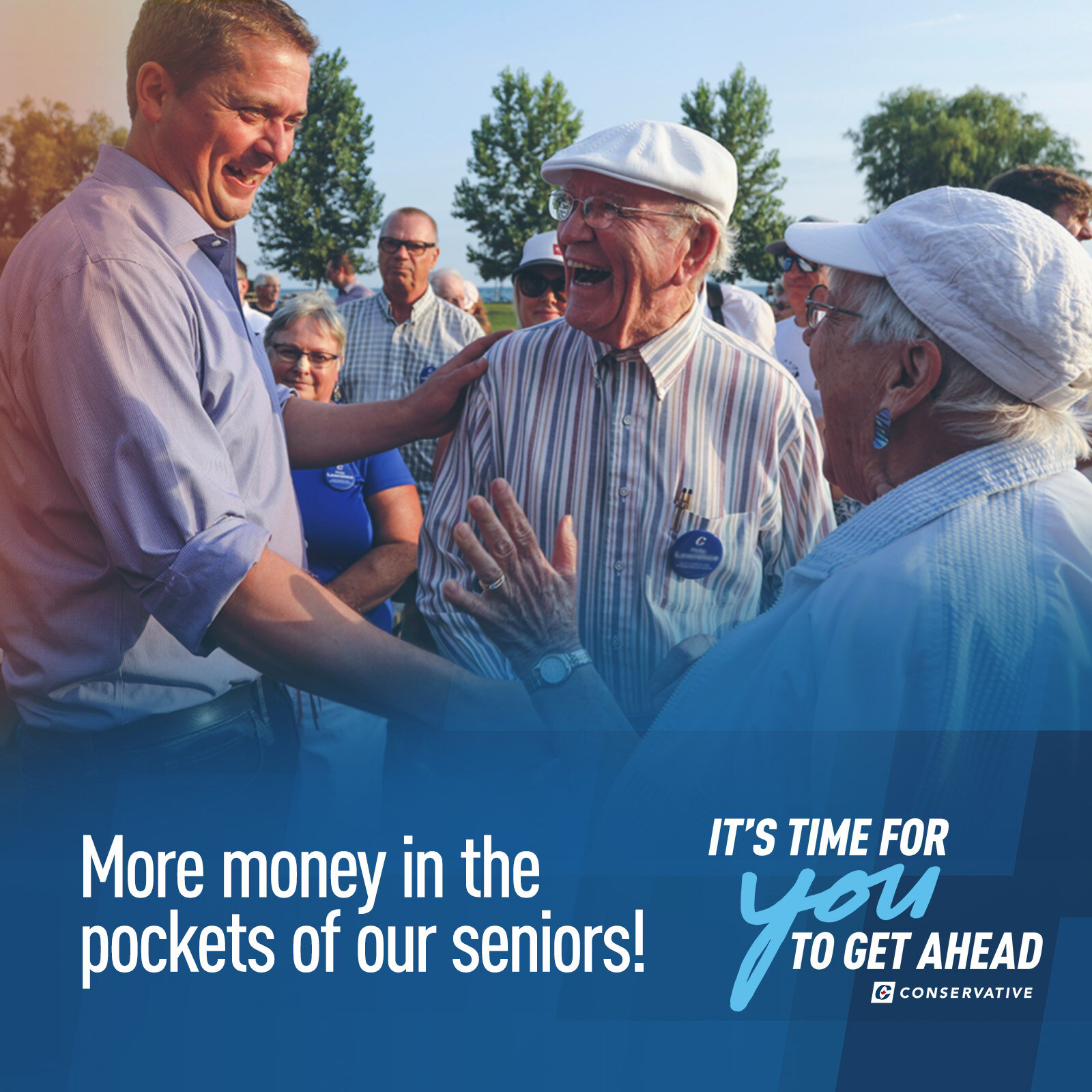 Seniors Taxes - Conservatives will help seniors by increasing the Age Credit by $1,000 per person, up to an income of $37,790 (the credit then phases out toward a max income of $87,750). That credit translates to $150 extra in cash per individual.Seniors will also benefit from the tax cut on the lowest tax bracket (see below), which includes pension earnings; and benefit from removing the GST on heating fuel, not introducing a carbon tax in Alberta, and restoring the public transit tax credit.