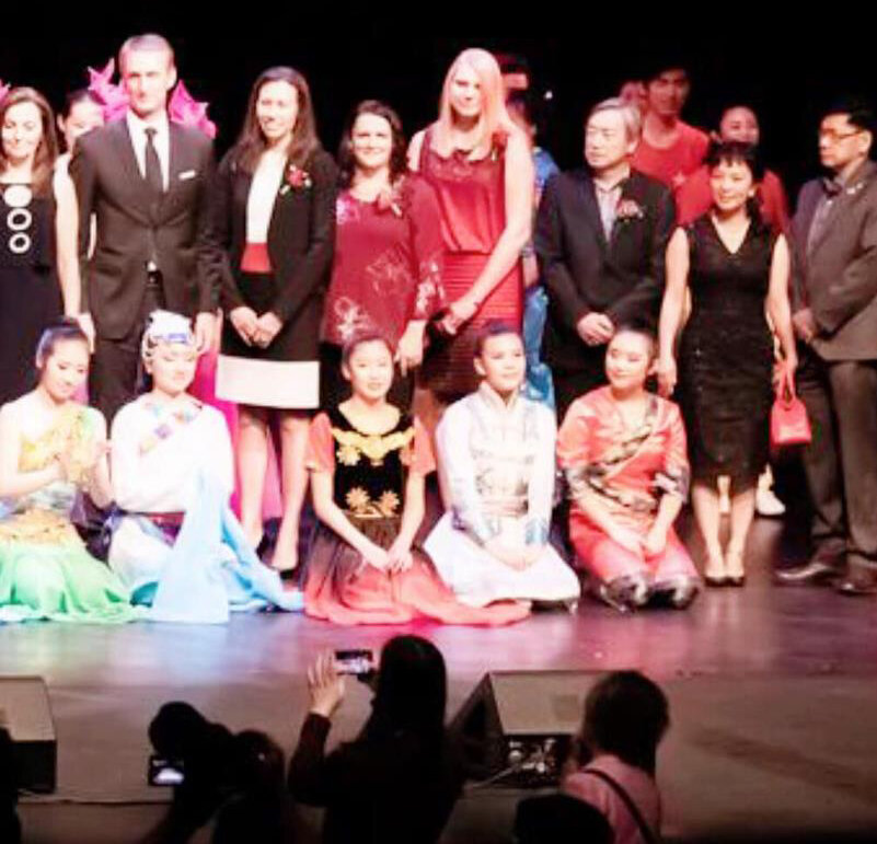 Ruth and I were honoured earlier this week to be hosted for a celebration of Chinese arts and culture at the Jubilee.