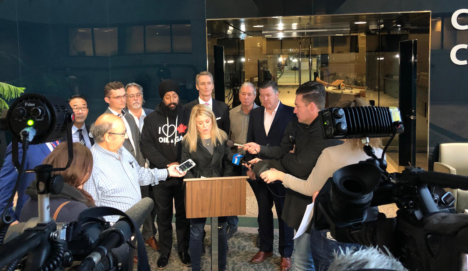 Conservatives were accused of not responding to the City of Calgary's issues survey. Unfortunately, it was never sent to us (my team double checked our mail, as did other candidates). Today the Calgary Conservative candidates held a news conference to release our answers. You can find them here:  https://cpcrempel.ca/yyc-matters-survey
