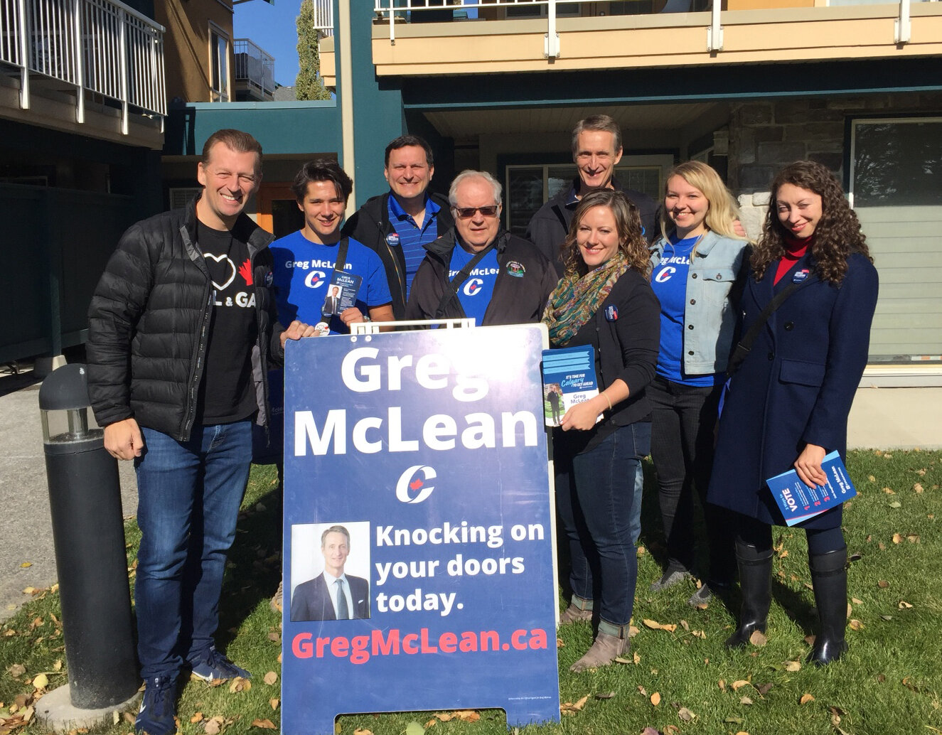 Provincial MLAs Mike Ellis and Hon. Rebecca Schultz joined my doorknocking team over the weekend. Doorknocking continues this week as we try to wrap up the final doors in Calgary Centre. If you have two hours to spare one evening, please sign up at  https://volunteersignup.org/PMPLY