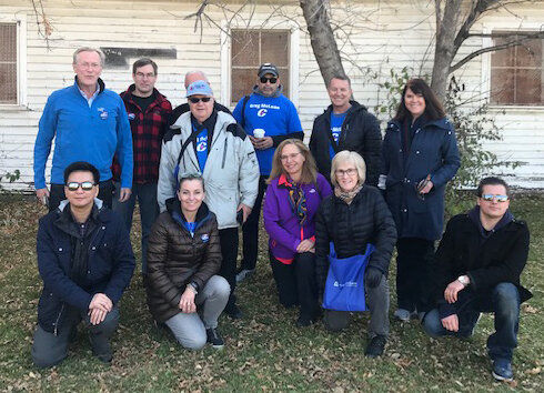 On the final day of doorknocking, Sunday, the crews did 2,105 doors in Elbow Park, Inglewood and some multi-family buildings. Polls close today at 7:30 PM sharp. Please be in line by then.