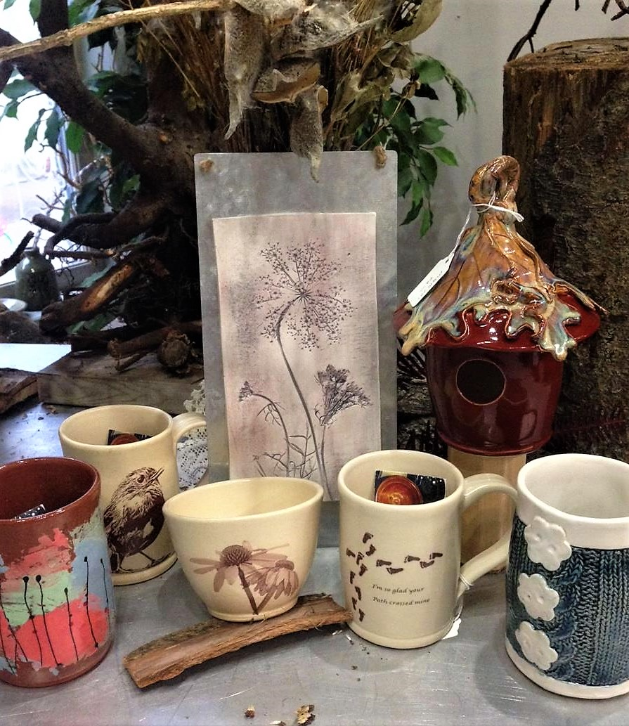 Mary Quinn Rich Pottery -