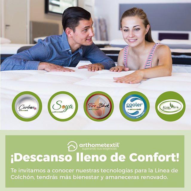 Siempre pensando en la excelencia de nuestros productos!!!! Queremos presentarte nuestras tecnologías de Colchón #arthometextil #tecnologiasarthometextil #superandosusexigencias