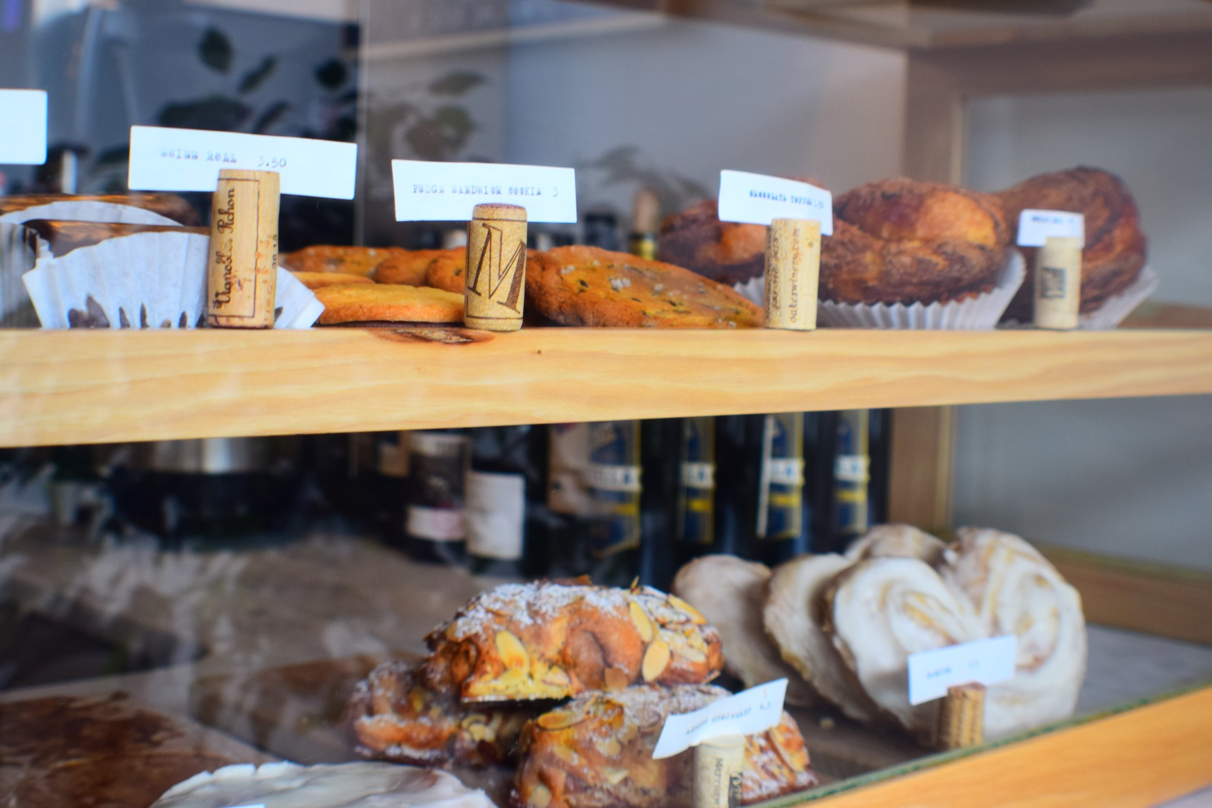 House-made treats on display at The Grange Community Kitchen near Buffalo, NY