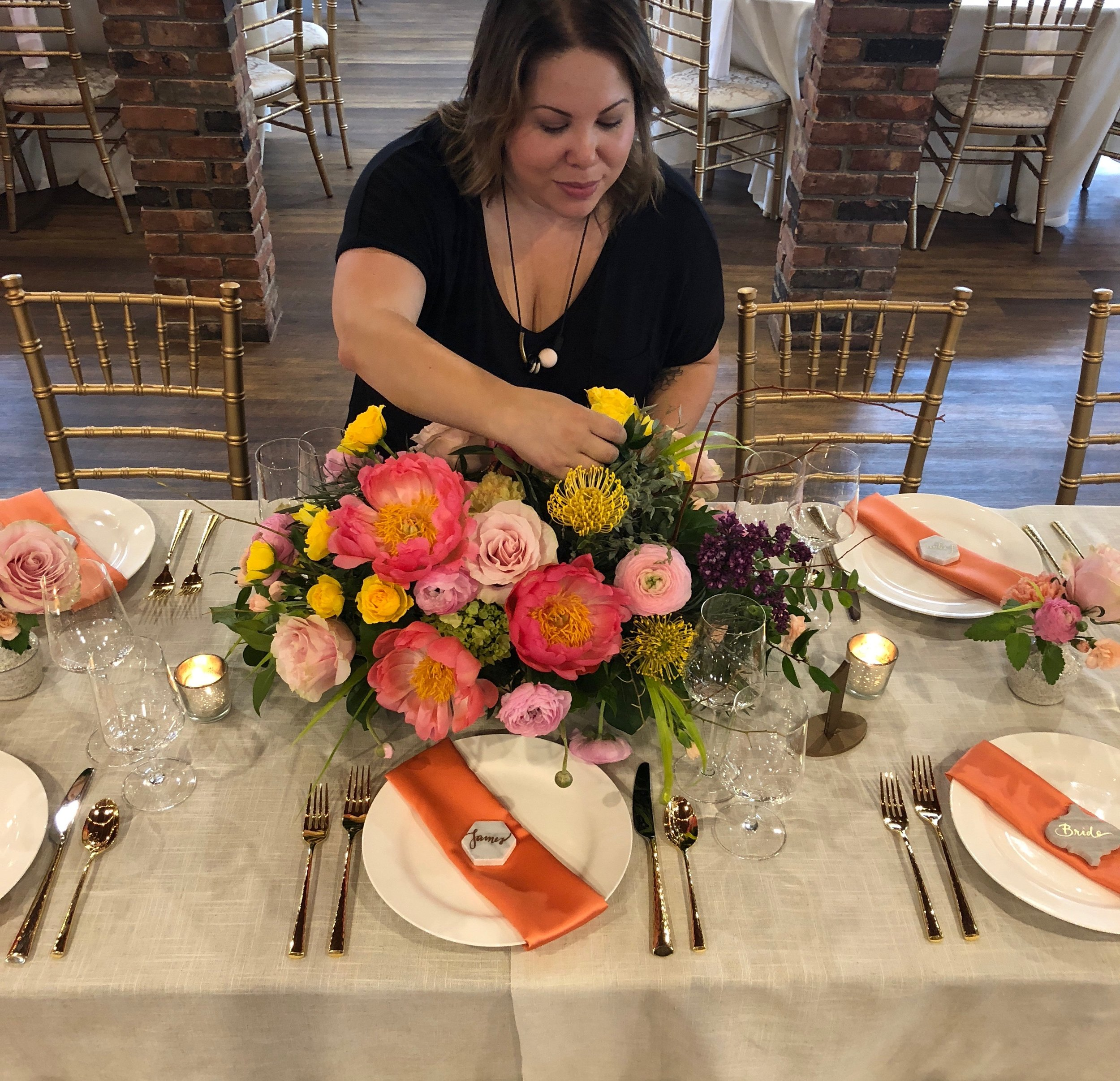 What is a wedding planner? A wedding planner spends 100-250 hours planning your wedding to make sure that it's perfect. Social Maven's Syrie Roman at work