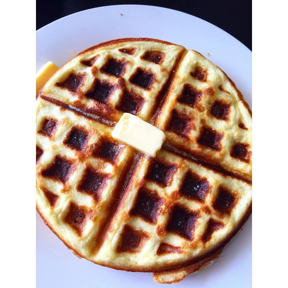 Low-Carb, Ketogenic Diet Friendly Waffles
