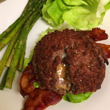 Low-Carb, Ketogenic Diet Burgers