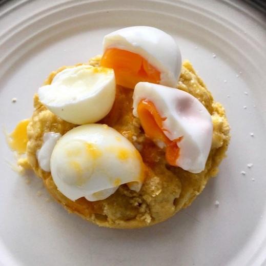 Low-Carb, Ketogenic Diet Egg Sandwich