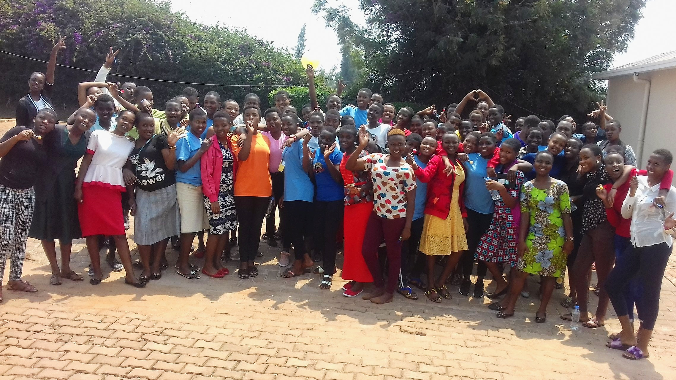 All 70 secondary school scholars get together 3 times per year at the Komera Leadership Summits.