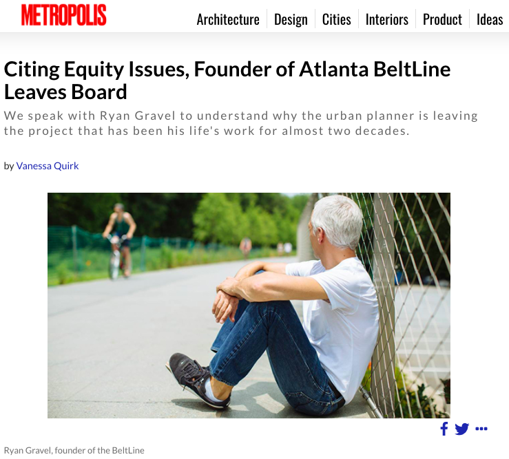 """We believe that who the Atlanta BeltLine is built for is just as important as whether it is built at all."