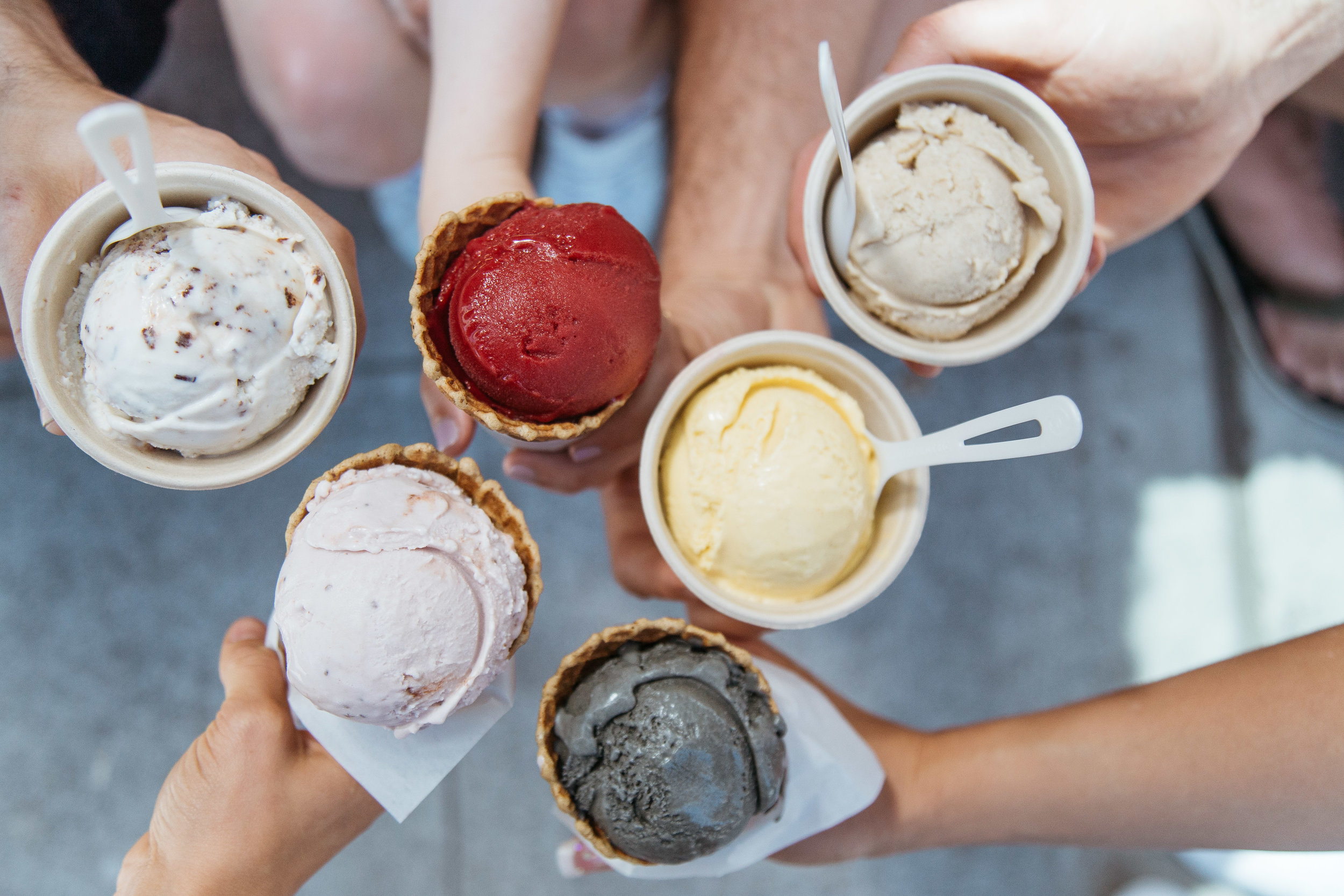Ice Cream at Frankie and Jo's