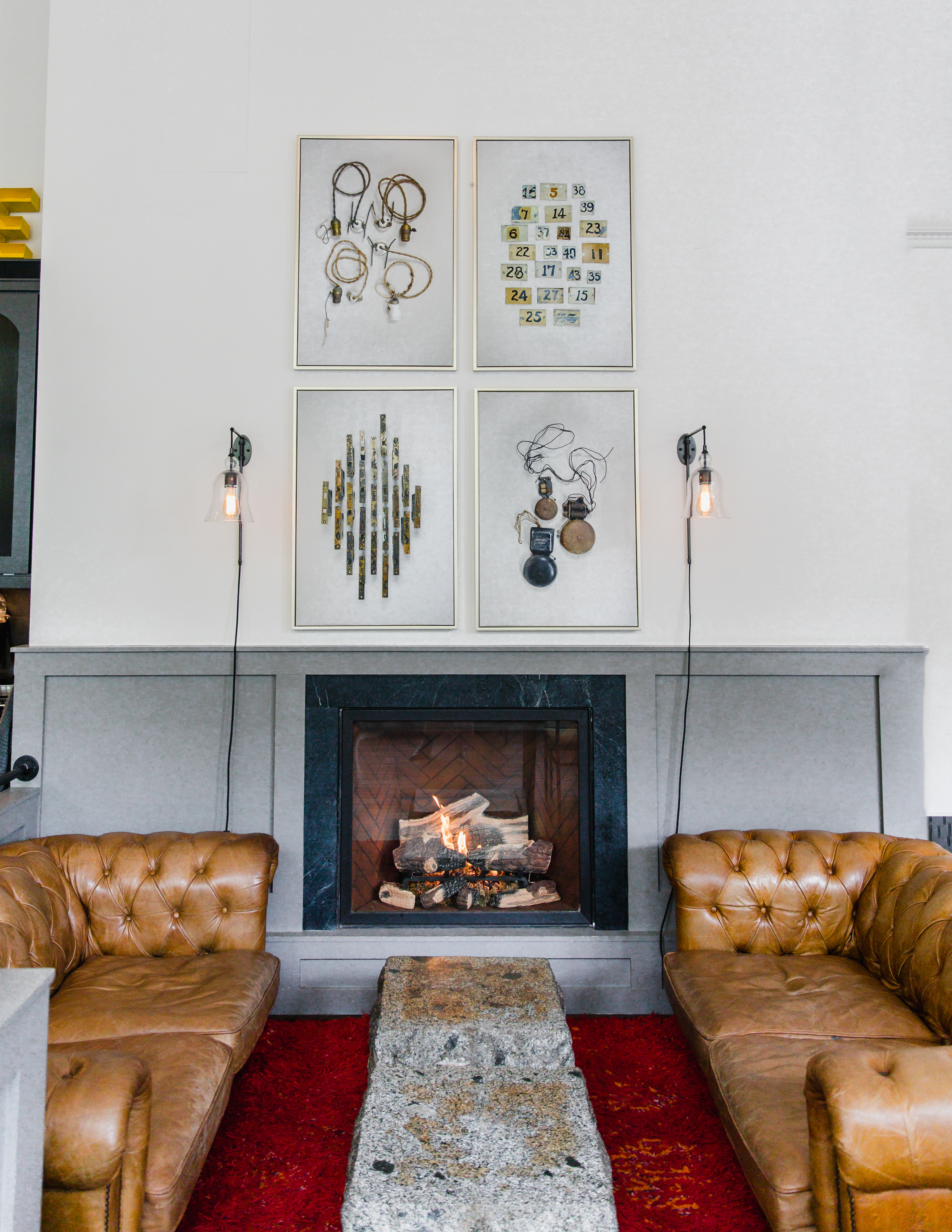 5. The Society Hotel - A great place to cozy up next to a fireplace and sip your cup of coffee.