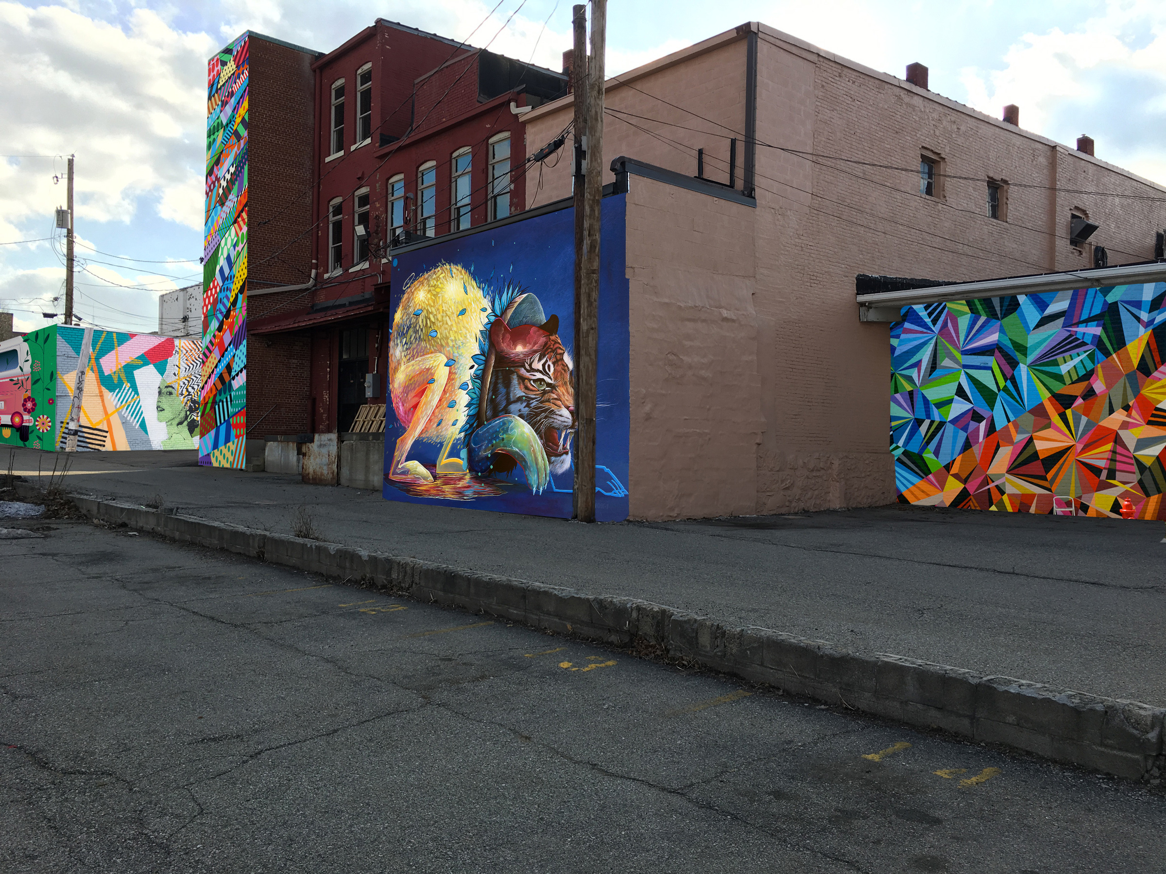 Bright Walls Mural Festival Announced in Jackson - mLive Jackson • Apr 27, 2018