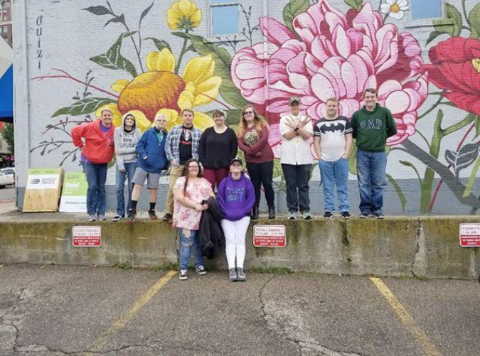 Students experience Jackson mural event - Hillsdale Daily News • Oct. 14, 2018