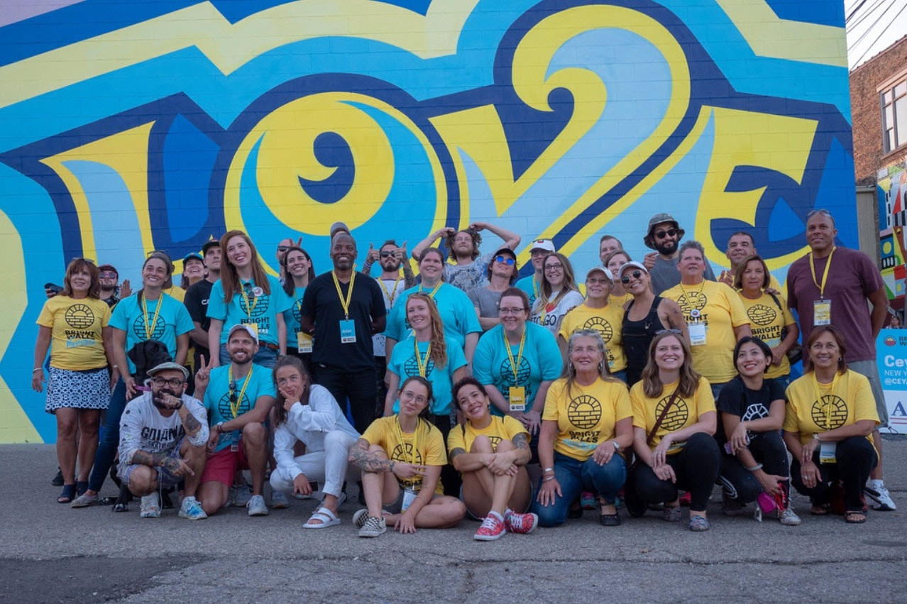 WE NEED VOLUNTEERS - The Bright Walls Team is in need of volunteers to help organize and manage the day to day operations of the mural festival.Helping artists with supplies, assisting the community with their questions, working with our workshops and directing our food vendors where to go.You will be an honorary member of the Bright Walls team and receive a limited edition Bright Walls volunteer shirt for all of your help.