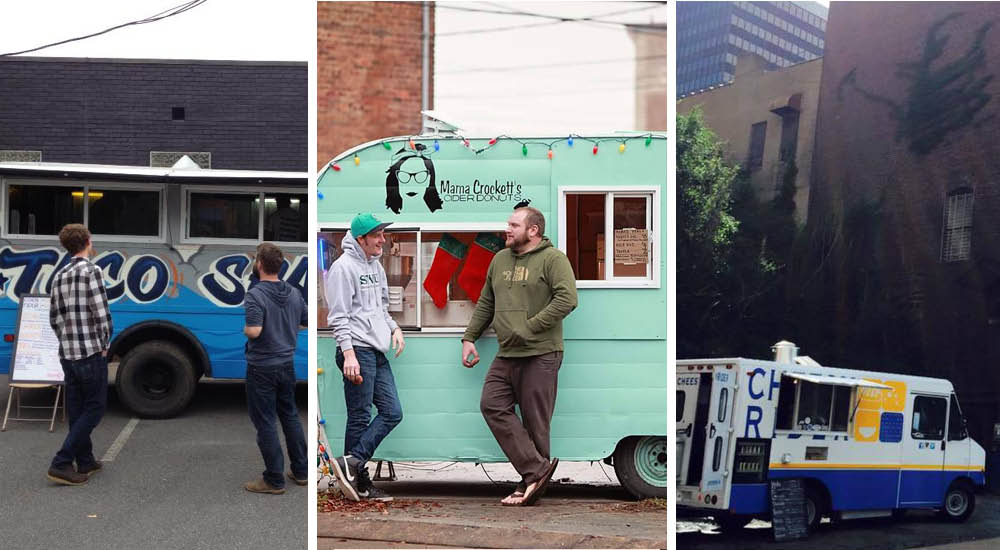 Food Trucks in Downtown Lynchburg, VA