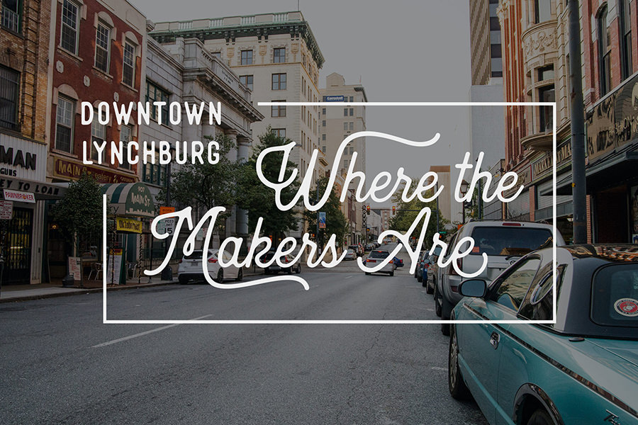 Downtown Lynchburg