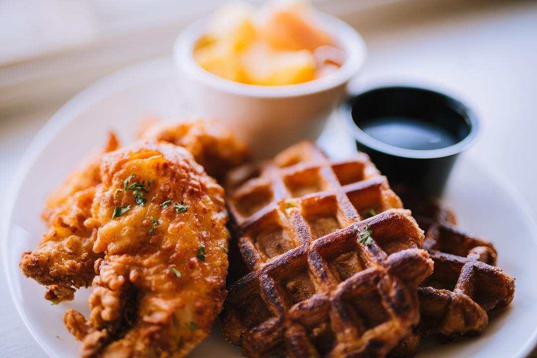 3 for $25-  Depot Grille  All the heart eyes for their desserts...and chicken and waffles!