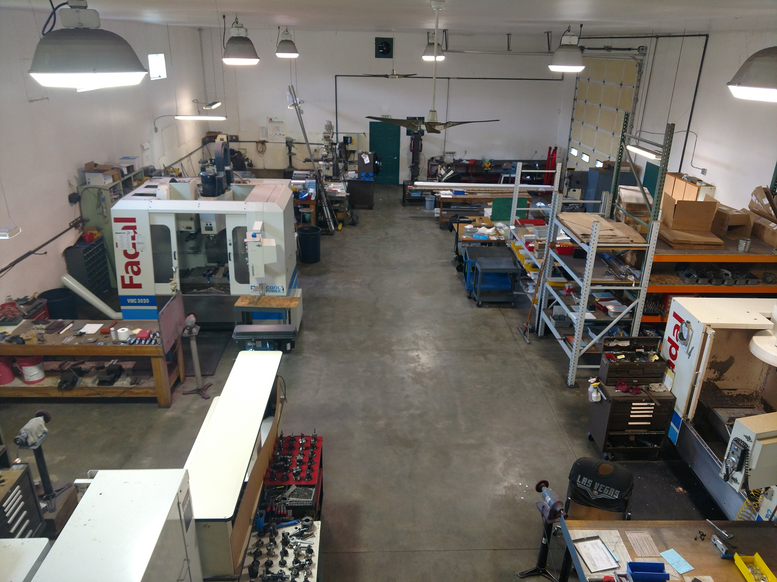 Our 4000 sq ft. shop floor is designed for work flow, allowing us to get your parts finished and delivered to you on time.
