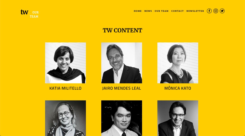 TW Content Team Bios