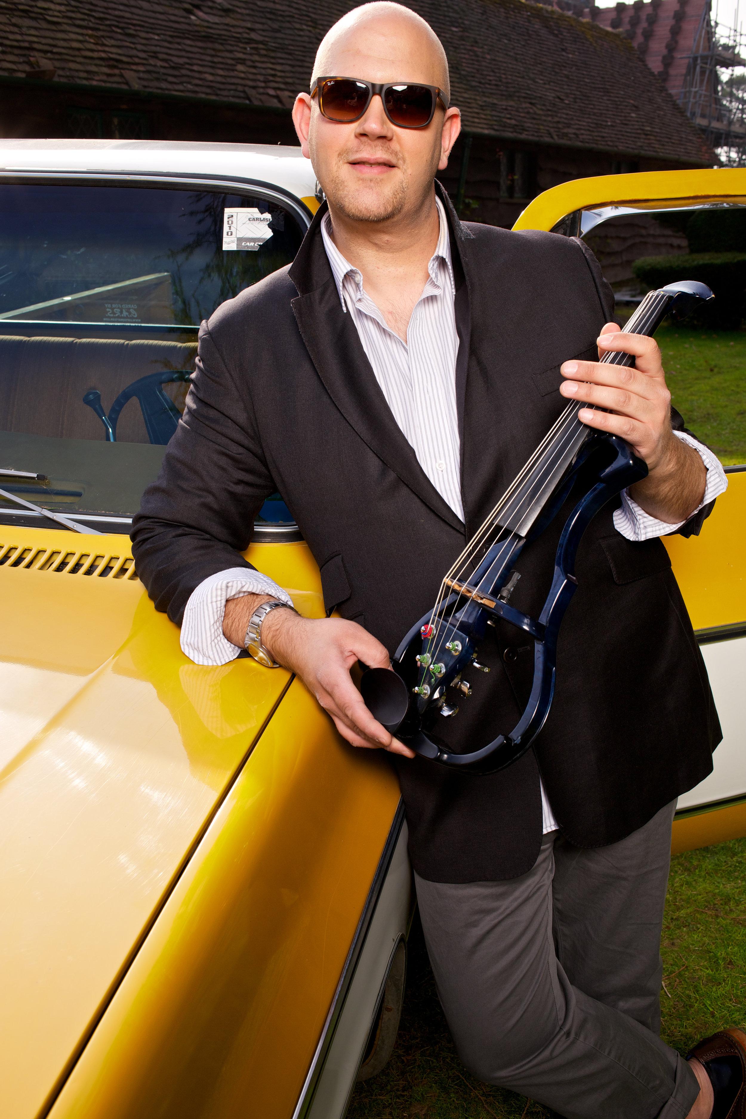Stringfever Graham Broadbent electric viola yellow truck.jpg