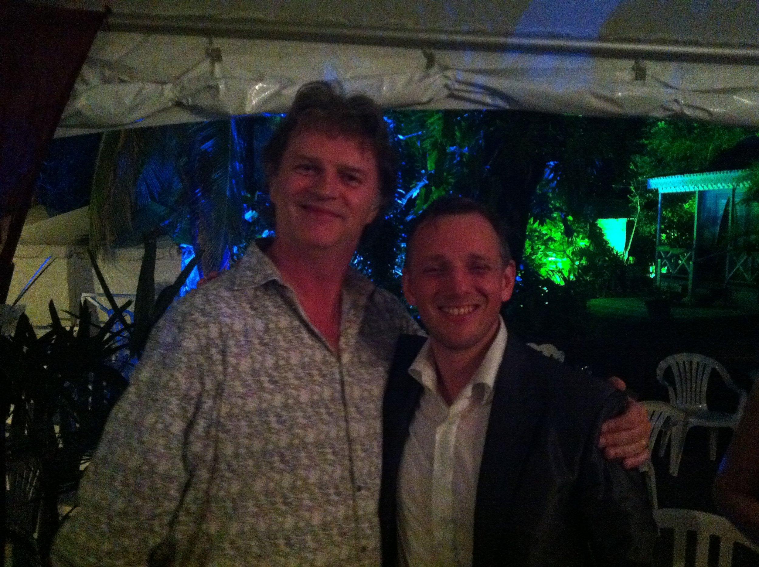 Stringfever Paul Merton & Ralph Broadbent Holders Season 2013.JPG