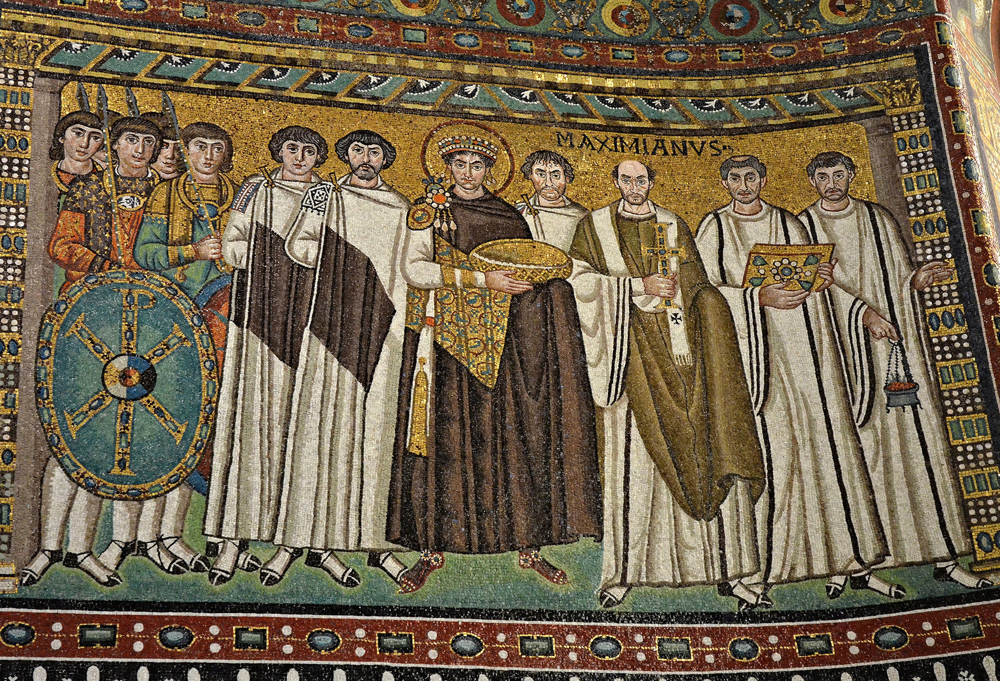 Limited choice of haircuts in the Byzantine court.