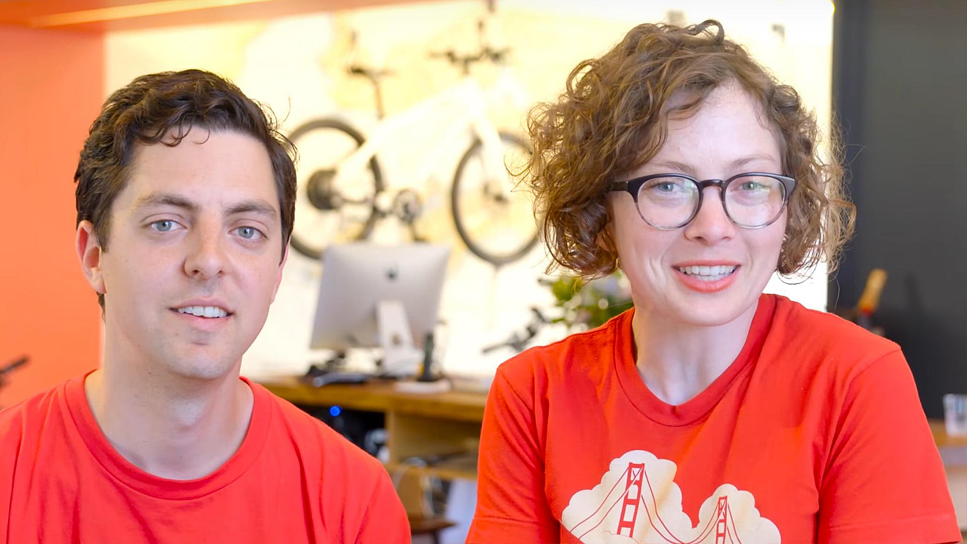 The New Wheel cofounders Brett Thurber (left) and Karen Weiner.